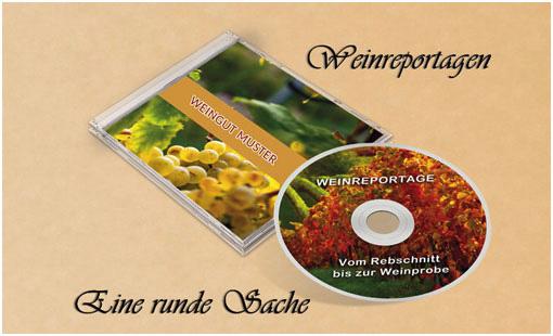 Weinreportagen - Ihr Betrieb auf DVD