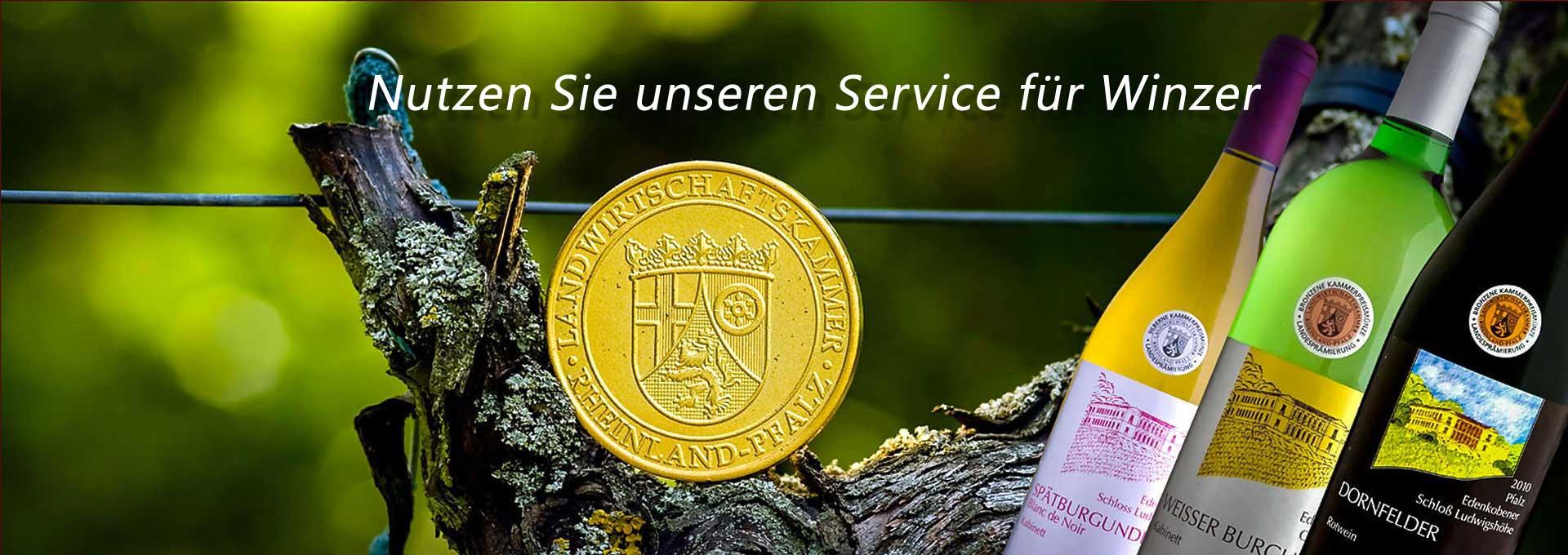 Service für den Weinbau