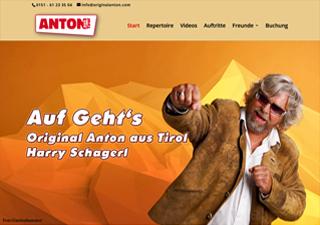 Neue webseite von original Anton aus Tirol
