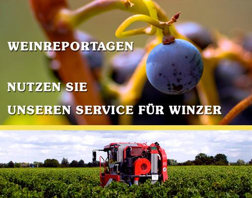 Service für Weinbaubetriebe