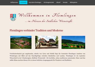 Gemeinde Flemlingen
